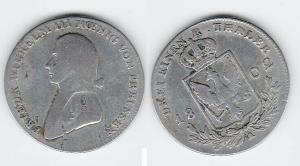 1/3 Taler Silber Münze Preussen 1802 A (118484)