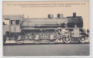 91049 AK Heißdampf-Schnellzugs-Lokomotive königlich preußische Staats-Eisenbahn