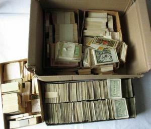 Riesiger Posten mit etwa 17.000 Banknoten deutsches Notgeld um 1920 (119579)