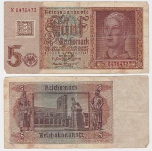5 Mark Banknote DDR Deutsche Notenbank 1948 Kuponausgabe Ro.Nr.333 b (132310)
