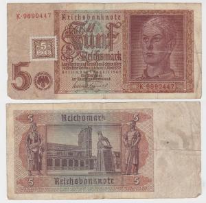5 Mark Banknote DDR Deutsche Notenbank 1948 Kuponausgabe Ro.Nr.333 a (132134)