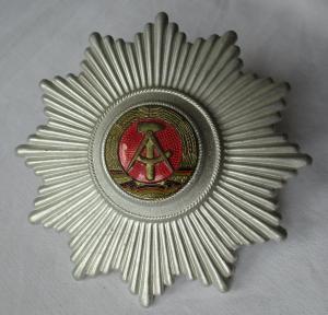Großer Tschako Stern kasernierten Volkspolizei KVP Original TOP (121863)