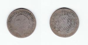6 Kreuzer Silber Münze Bayern 1811 (129376)