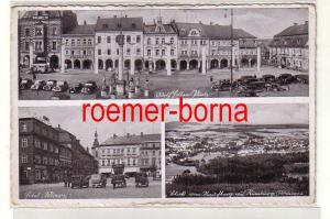 80073 Mehrbild Ak Rumburg Sudetengau Hotel