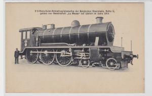 92544 Ak Schnellzugslokomotive Belgische Staatsbahn Reihe 9 um 1920