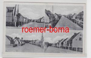 82659 Ak Mallmitz Małomice Kreis Sprottau Straßenansichten um 1940