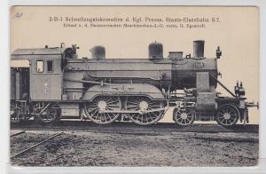 77424 Ak Lokomotive Preussische Staatsbahn Hanomag Hannover Linden