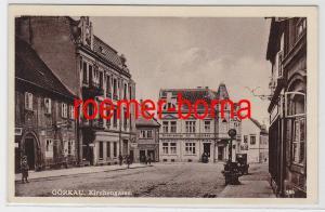82343 Ak Görkau Jirkov Kirchengasse mit Geschäften um 1910
