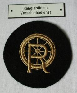 Deutsche Reichsbahn Stoffabzeichen Rangiermeister & Oberrangiermeister (106728)