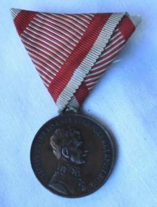 Ehren-Denkmünze für Tapferkeit (Österreich) Bronze (110368)