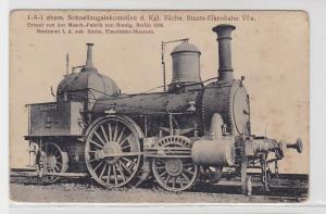90246 AK Schnellzugslokomotive der königlich sächs. Staats-Eisenbahn VI a 1858