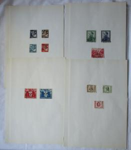 DDR Briefmarken Deutsch Chinesische Freundschaft gestempelt (107449)