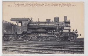 90890 AK gekuppelte Schnellzugs-Lokomotive d. preußische Staatsbahn Stettin 1905