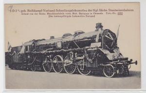 76018 AK Heißdampf-Verbund-Schnellzugslokomotive der sächs. Staatseisenbahnen