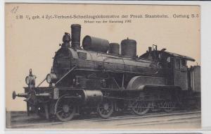 87476 AK Verbund-Schnellzugslokomotive preußische Staatsbahn 1903 Gattung S.5