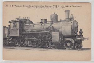 91168 AK Verbund-Schnellzugslokomotive sächs. Staatsbahn 1896 Gattung VIII V 1