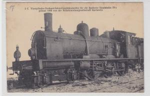 89249 Ak Eisenbahn Badische Staatsbahn Maschinenbaugesellschaft Karlsruhe 1898