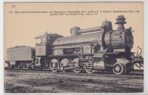 70676 Ak Eisenbahn Sächsische Staatsbahn Krauß & Co Linz a.D. 1918