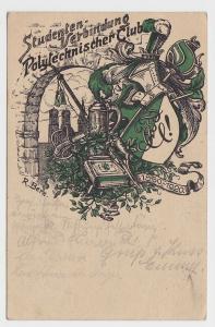 82730 Studentika AK München - Studenten-Verbindung Polytechnischer Club 1920