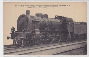 83934 Ak Eisenbahn Preussische Staatsbahn S 10 Hanomag Hannover Linden 1912