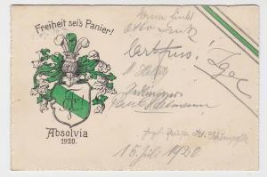 73684 Studentika AK München - Freiheit sei's Panier! Absolvia 1920