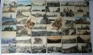 100 Ansichtskarten gelaufen als Feldpost im 1. Weltkrieg (104945)