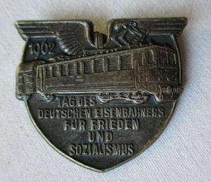 DDR Abzeichen Tag des deutschen Eisenbahners 1962 (107105)
