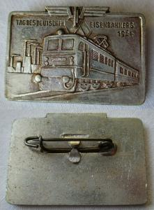 DDR Abzeichen Tag des deutschen Eisenbahners 1964 (106738)