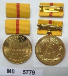 Seltene DDR Medaille für hervorragende Leistungen in der Chemischen Industrie