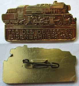 DDR Abzeichen Tag des deutschen Eisenbahners 1958 (104846)