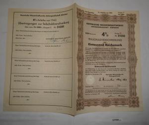 1000 Reichsmark Bayerische Wasserkraftwerke München November 1923 (127950)