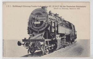 92206 AK Heißdampf-Güterzug-Tender-Lokomotive der deutschen Reichsbahn 1923