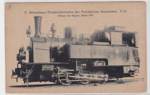 83937 AK Schmalspur-Tenderlokomotive der preußischen Staatsbahn T33 Erfurt 1913