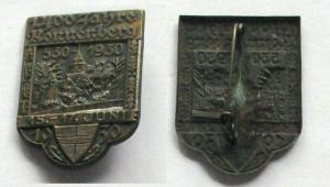 Abzeichen 1400 Jahre Ronnenberg 530 - 15.-17. Juni - 1930 (132754)