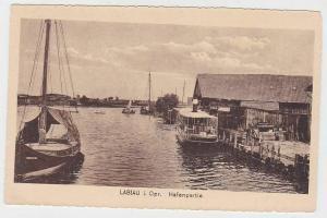 69523 Ak Labiau Polessk in Ostpreussen Hafenpartie um 1920