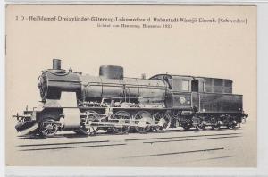 85570 AK Heißdampf-Güterzug-Lokomotive der Halmstadt-Nàssjö-Eisenbahn (Schweden)