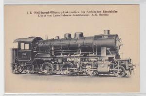 85931 AK Heißdampf-Güterzug-Lokomotive der serbischen Staatsbahn Breslau