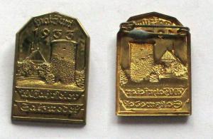 Seltenes Abzeichen 700 Jahrfeier Salzwedel Mai-Juni 1933 (132868)