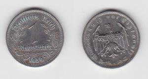 1 Mark Nickel Münze 3.Reich 1939 A, Jäger 354 (123285)