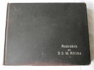 123484 Original Fotoalbum mit 94 Fotos DSWA Südwestafrika Namibia um 1910