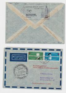 89168 Erstflugbrief von der Eröffnung des DDR-Linienverkehrs 16.06.1957