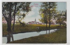 40310 AK Poniec (Punitz) - Samicz Kóściól katoli, katholische Frauenkirche 1917