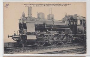 91277 AK Güterzug-Verbundlokomotive der Sächsischen Staatsbahn, Chemnitz 1920