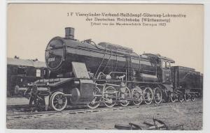 84599 AK Heißdampf-Güterzug-Lokomotive Deutsche Reichsbahn (Württemberg) 1923