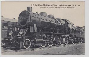 90819 AK Heißdampf-Güterzug-Lokomotive für Polen Masch.-Bau AG Berlin 1924