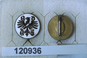 Emailliertes Mitgliedsabzeichen ADAC allg.dt.Automobil Club um 1930 (120936)
