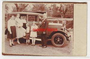 35610 Foto Ak altes Adler Automobil um 1930