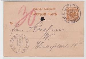 92856 Ganzsachen AK 25 Pfennig Deutsche Reichspost Berlin 1898