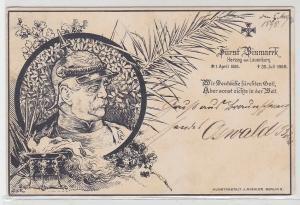 03322 AK Fürst Bismarck Herzog von Lauenburg 1. April 1815 - 30. Juli 1898
