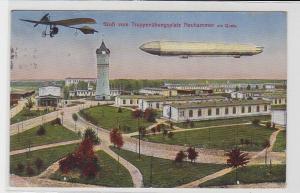 94456 Feldpost Ak Gruß vom Truppenübungsplatz Neuhammer am Queis 1915